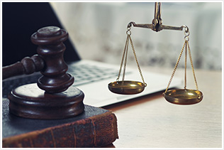 Scale and Gavel