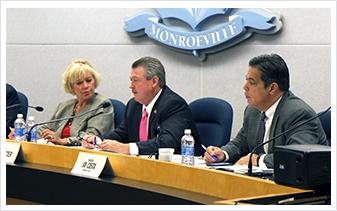 Senator Lisa Boscola, Senator Jim Brewster, Senator Jay Costa