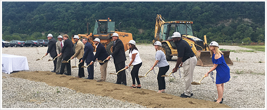 PurePenn at Groundbreaking in McKeesport