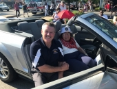 Sen. Brewster in 4th of July Parades - Monroeville and Brentwood ::July 4, 2018