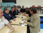 Senator Brewster Hosts Fire Chiefs Roundtable Discussion - McKeesport :: November 5, 2015