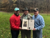 Senator Brewster Attends John Arway's Retirement from the PA Fish and Boat Commission :: November 2, 2018