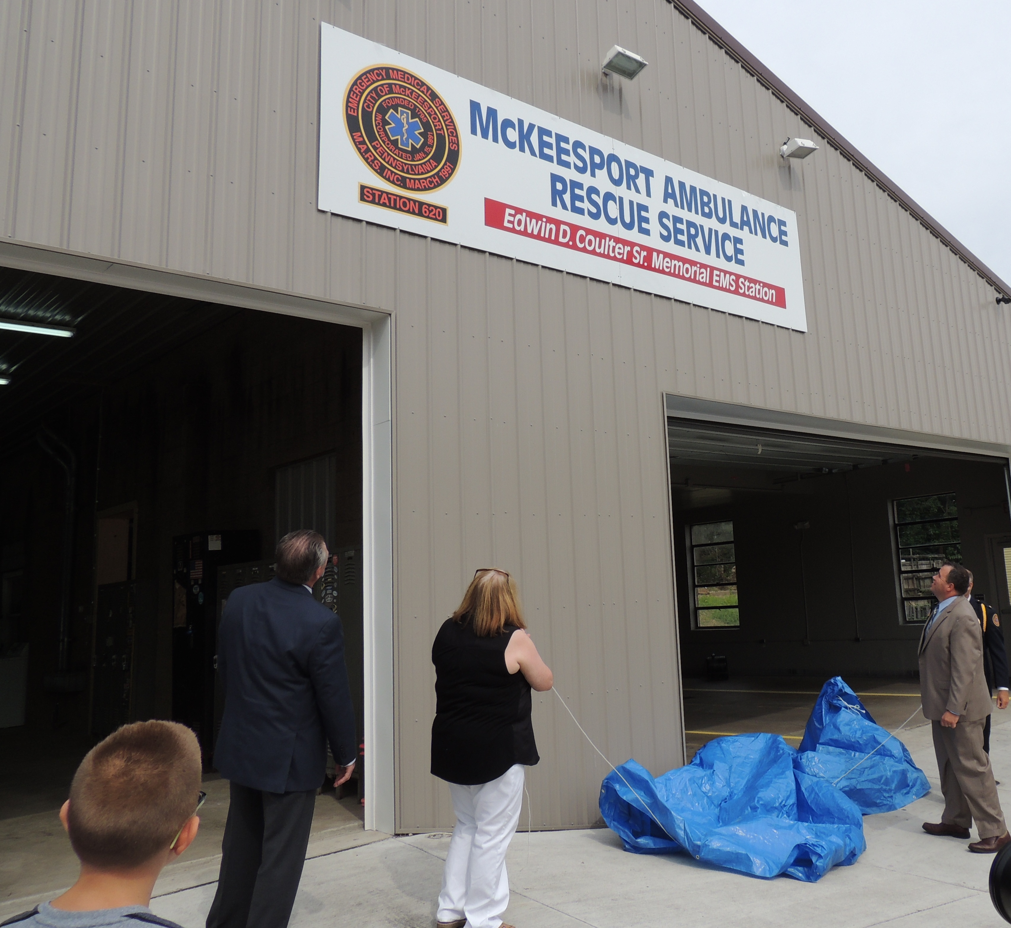 McKeesport Ambulance Rescue Service Dedication