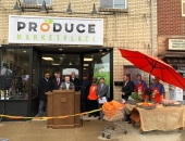 Senator Brewster Attends Ribbon Cutting for Produce Marketplace in Clairton :: October 26, 2018