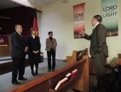 Salvation Army Check Presentation :: January 21, 2016