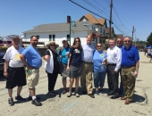 Senator Brewster Attends East McKeesport Open Streets Day and Spray Park/Ice Rink Grand Opening :: June 3, 2017
