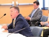 Sen. Brewster Hosts Senate Transportation Committee Hearing on Benefits of Funding :: July 17, 2018