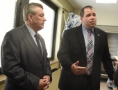 SenatorBrewster Visits Allegheny County's First Combined Inpatient Detox & Rebab Unit at UPMC McKeesport :: January 11, 2018