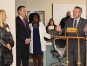 Senator Brewster Visits Allegheny County's First Combined Inpatient Detox & Rebab Unit at UPMC McKeesport :: January 11, 2018