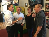 Senator Brewster and Lt. Governor Mike Stack Tour 45th District :: August 17, 2017