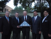 "Senator Brewster Attend 9/11 ""Moment of Remembrance"" in Duquesne :: September 11, 2011"
