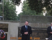 """Senator Brewster Attend 9/11 \""""Moment of Remembrance\"""" in Duquesne :: September 11, 2011"""