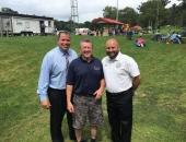 Senator Brewster Attends 9th Annual Village for Kids in McKeesport :: August 14, 2017