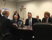 Senator Brewster Hosts Governor Wolf, DCED Secretary Davin, Allegheny County Executive Fitzgerald for Tour of Dura-Bond in McKeesport :: May 26, 2017