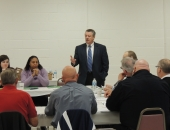 Senator Brewster Hosts Phase 3 of His Meetings with Center for Victims, Local Police Chiefs and Officials :: January 8, 2016