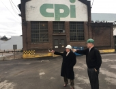 Senator Brewster Tours Manufacturing Facility - CP Industries - In McKeesport :: January 26, 2017