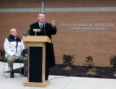 Senator James R. Brewster Community Center Dedication :: December 16, 2011