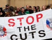 Stop the Port Authority Cuts Rally :: February 26, 2011