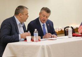 Sen. Brewster Hosts Veterans Breakfast at VFW Post 92 Lower Burrell :: December 12, 2019
