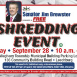 Senator Brewster Shredding Event