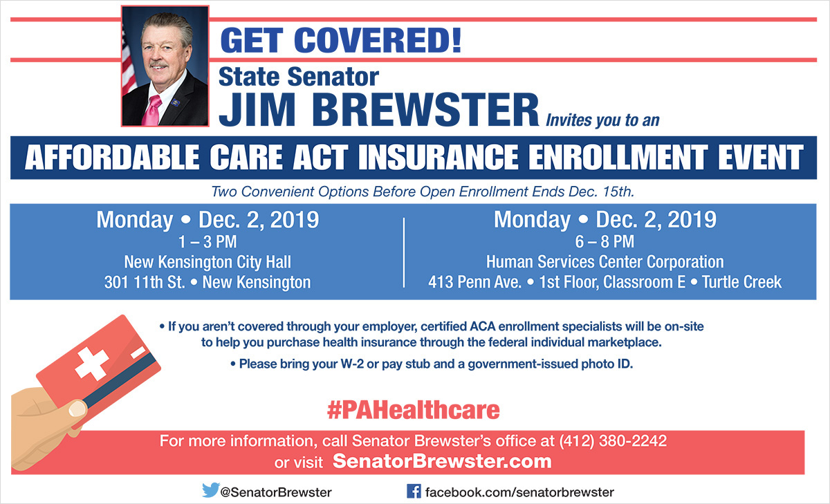 Affordable Care Act Insurance Enrollment Events
