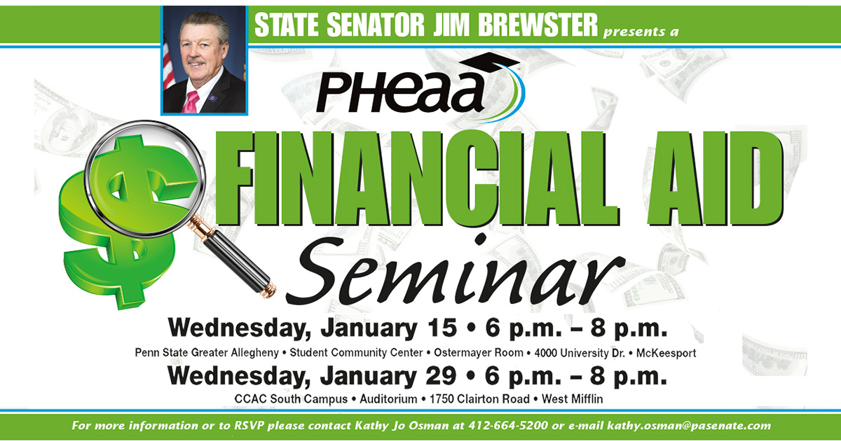 Brewster to Host Higher Education Financial Aid Seminars