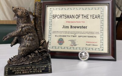 Brewster Recognized as 'Sportsman of the Year'